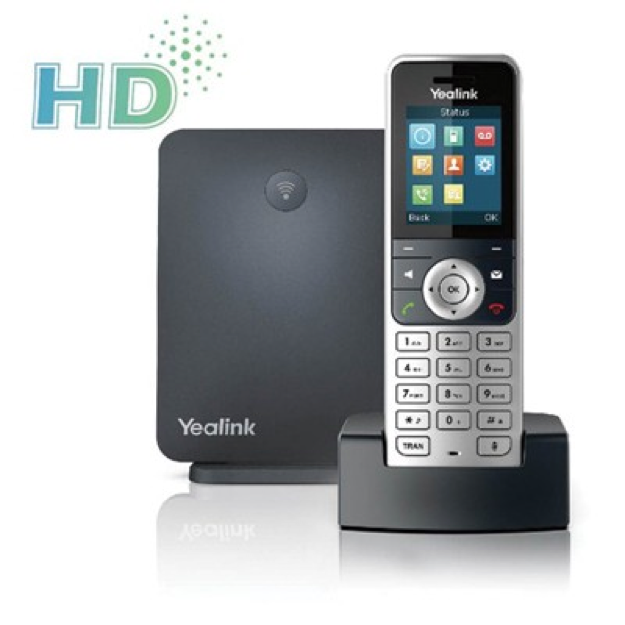 YEALINK W53P DECT IP PHONE (1 HANDSET + 1 BASE)